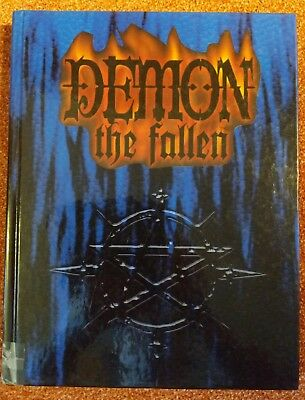 WW 8200 Demon the Fallen Rulebook - old World of Darkness - WoD - White Wolf