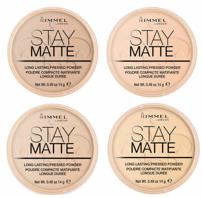 BRAND NEW - RIMMEL Stay Matte Pressed Powder 14g SEALED - various shades