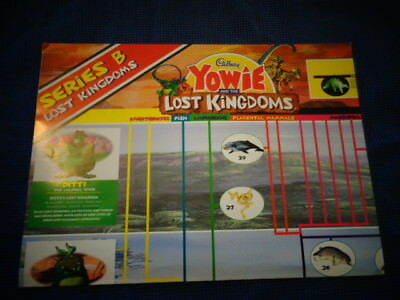 Yowie Yowies,* POSTER * CADBURY LOST KINGDOM B * FULL SIZE POSTER