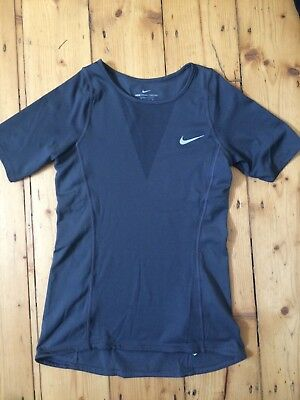 Nike Women's Zonal Cooling T-Shirt in Dark Grey (XS) - only worn once!