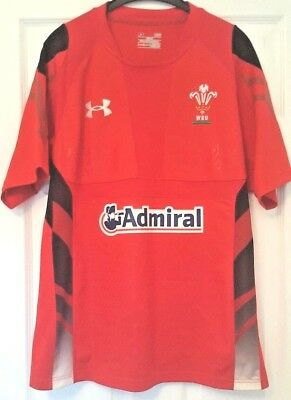 Wales National Home Rugby Union Jersey/Shirt/Top - Adult - Large - L