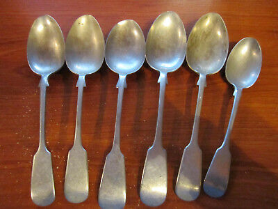 Silver Spoons All With Markings      ********* Must See ************