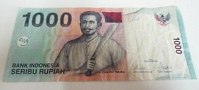 One Thousand / 1,000 Indonesian Rupiah - Indonesia - Circulated - JZB844967