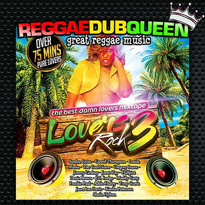 Best Damn Lovers Rock 3 Mixtape. Reggae Mix CD. UK