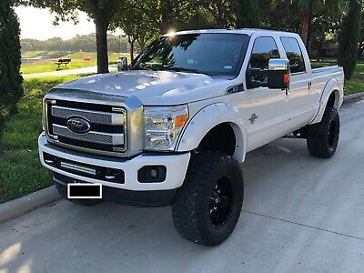 2015 Ford F-250 PLATINUM 2015 Ford F250 Platinum Lifted and Loaded