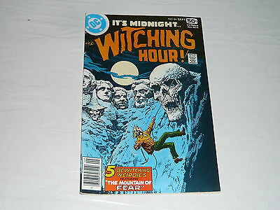 DC Comics Witching Hour No84 Moutain of Fear stored since 1970s vintage classic