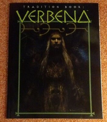 WW 4659 Tradition Book Verbena - Mage the Ascension- World of Darkness