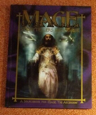 WW 4604 Storytellers Handbook - Mage the Ascension- World of Darkness