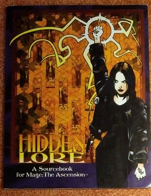 WW 4301 Hidden Lore & Storytellers Screen- Mage the Ascension- World of Darkness