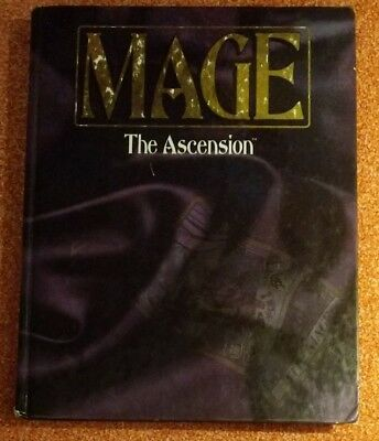 WW 4300 Mage the Ascension Rulebook - World of Darkness