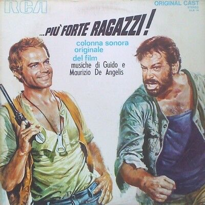 "Soundtrack ""Piu Forte Ragazzi"" LP= G, Cover= W (Fair)"