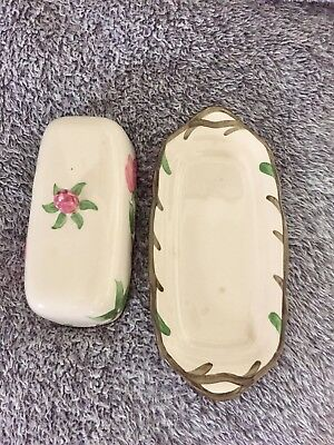 Franciscan Butter Dish DESERT ROSE Made in England