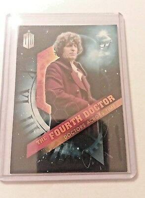 2016 Topps Doctor Who Timeless #4 Doctor Across Time - The Fourth Doctor