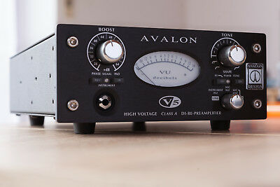 Avalon v5 - Mono Pre-Amp | Wie neu - siehe Fotos | top condition - see pictures