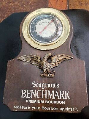 Vintage Seagrams advertising Thermometer