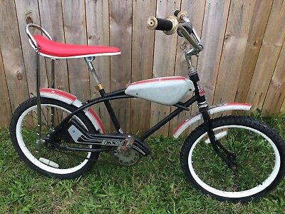 Old School AMF BMX Challenger MX Bicycle Muscle Bike  Evel Knievel Tank ?