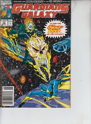 Guardians Of The Galaxy Volume One 13, 1991. 1st App. Cosmic Ghost Rider