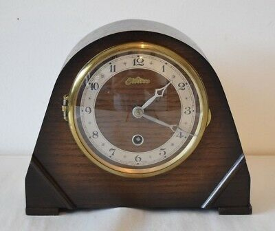 Vintage Solid Wood Bentima Mantle Clock - fully working: Chimes No wind-up key