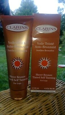 Clarins Sheer Bronze Tinted Self Tanning For Legs