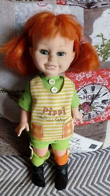 Doll Pippi Langstrump, Pippi Calzas Largas, from TOYSE, made in Spain