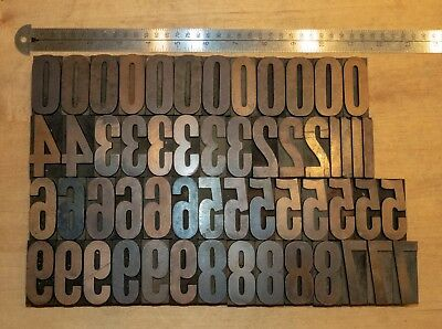 Wood type for letterpress printing