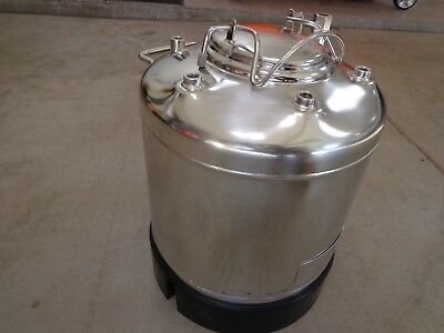 Alloy Products Corp. Pressure Tank 5 Gallon 316L Stainless Steel