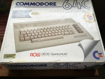 Commodore 64c with power supply, not working