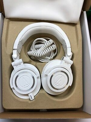 Audio Technica ATH-M50X WH  in Weiss OVP # 43