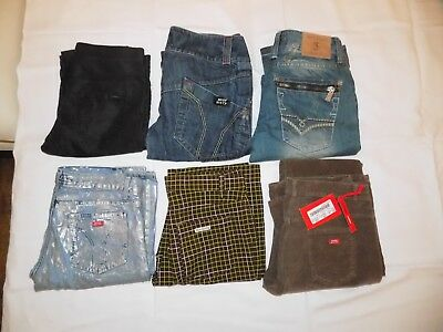 Damen Bekleidungspaket 6 Teile Jeans Hose Size W 29 Miss Sixty Only Justing