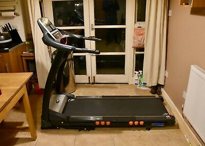 JLL® S400 Folding Electric Treadmill Motorised Incline Running Machine Bluetooth
