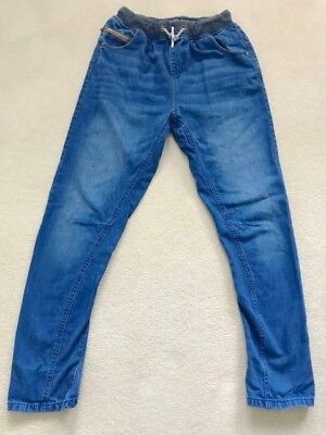Boys Elasticated/draw String Waist Jeans - Age 15 Years - From Next