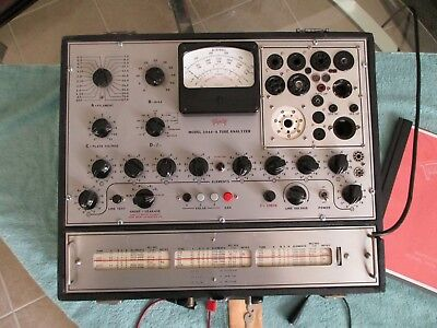 TRIPLETT MODEL 3444-A TUBE TESTER - VERY NICE!! Solid State Version