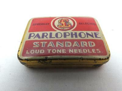 PARLOPHONE   Gramophone Needle Tin , Shellac 78rpm