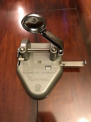 Vintage Wilson Jones 2-Hole Punch - Awesome!