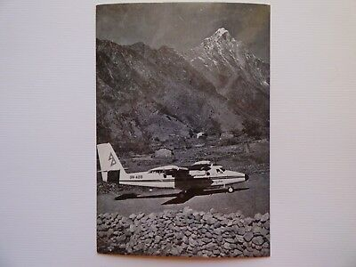 Royal Nepal Airlines  Twin Otter   Airline Issue / Carte Compagnie