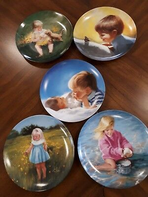 Collector plates set of 5