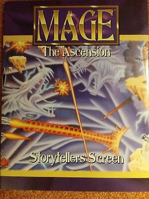 WW 4001 Storyteller's Screen & Angel of Mercy - Mage the Ascension - WoD