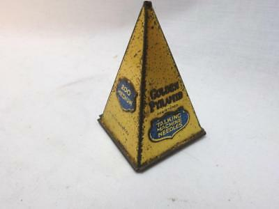 TALKING MACHINE GOLDEN PYRAMID  Gramophone Needle Tin , Shellac 78rpm