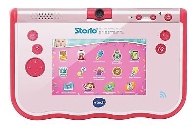 VTech 80-183854 Lerntablet Storio MAX 5 Zoll 4-9 Jahre 8GB Touch MP3 Kamera PINK