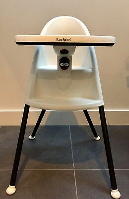 Used BabyBjorn High Chair White/Black - very good condition, owners manual inc.