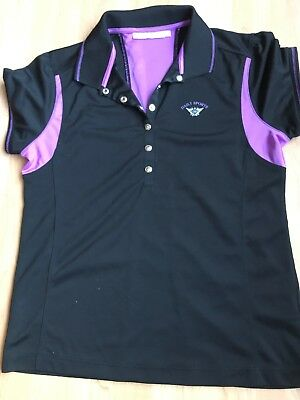 Daily Sports Damen Poloshirt L Golf Tennis Funktionsshirt