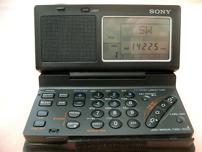 Sony SW 100 SW AM, FM, SSB receiver   with manual