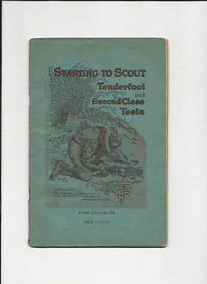 Starting to Scouts Tests 1943