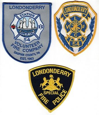 Londonderry Fire Company Patch Station 54 Three Mile Island Dauphin County, PA