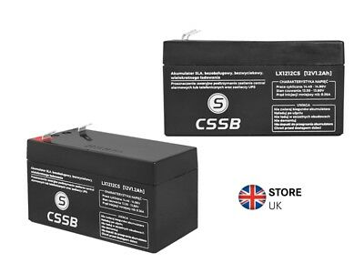 12V 1.2Ah LEAD-ACID BATTERY CE  HQ 96x51x41mm CSSB High Quality