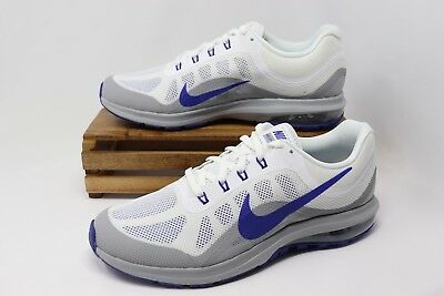 Nike Air Max Dynasty 2 Running Shoes White Blue Gray 852430-104 Men's NEW