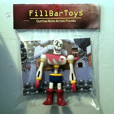 Undertale Papyrus Moveable Custom-Made Resin Action Figure