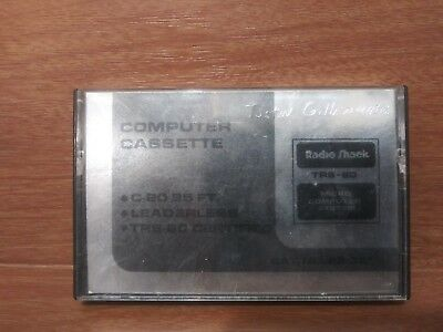 Radio Shack Certified Digital Cassette for TRS-80 Micro Computer System
