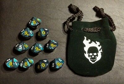 WW Hunter the Vigil Dice Set - new World of Darkness- White Wolf