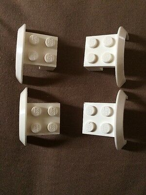 LEGO 50745 GREY Wheel Mudguard Brick 2x4x1-4 Pieces Per Order